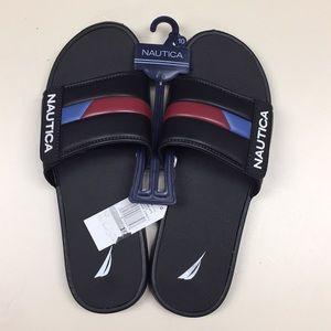 Men's nautica slip on sandals